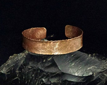 Copper Cuff Bracelet. Copper Bracelet. Large Cuff. Men's Cuff. Handmade Bracelet. Copper Cuff
