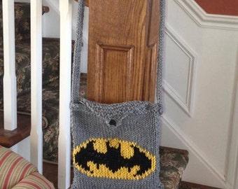 Batman Knit Bag