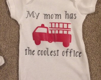My mom has the coolest office onesie