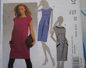 McCalls 5701 Dress Sewing Pattern 14-20