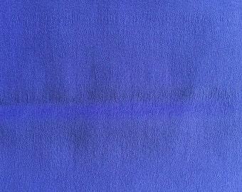 Periwinkle blue sulk fabric