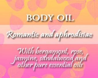 Romantic and Aphrodisiac Body Oil