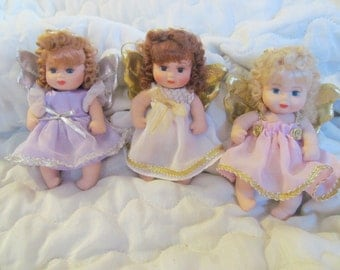 porcelain posable angel dolls/ornaments