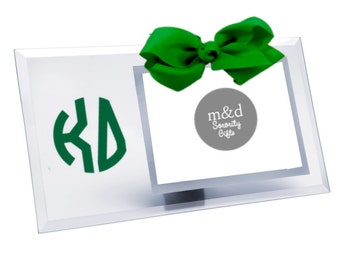 Kappa Delta Picture Frame | Glass picture frame with or without bow