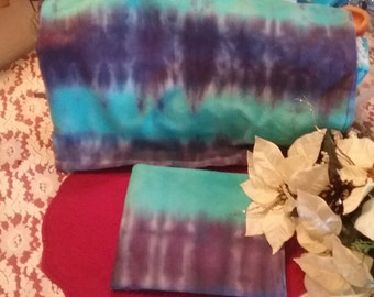 TIE DYE  Set of 2 32X 20 Inches cotton pillow cases