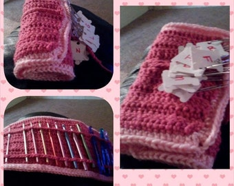 Handmade Crochet Hook Holder - custom sized