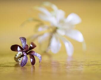Handmade wire flower