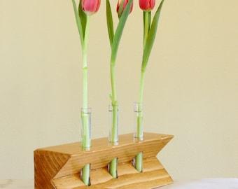 Test Tube Vase - Notched