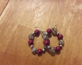 Custom Beaded Earrings