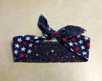 Patriotic Rosie Hair Tie