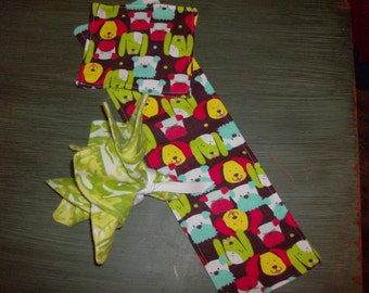 Baby Burp Cloth with 3 Washcloth's