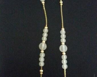Elegant Gold and White