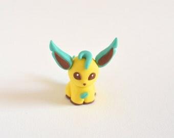 Leafeon pokémon figurine