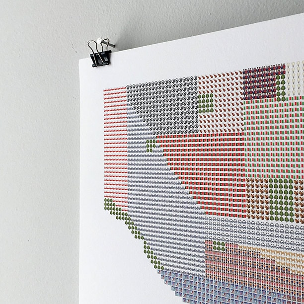 Emoji Map of Toronto