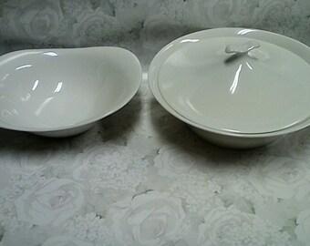 Vintage Impromptu IROQUOIS Bowl set design by Ben Seibel Good Gift Idea!