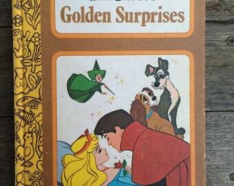 "Vintage ""Golden Surprises"" Disney Book - Rare & Collectable!"