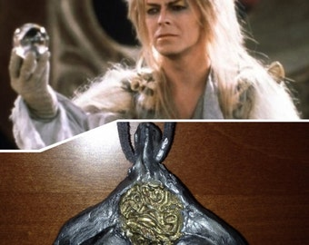 Labyrinth cosplay The goblin king necklace