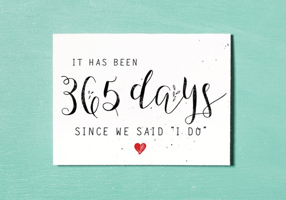 First Wedding Anniversary Card Instant Download Printable – Printable Wedding Anniversary Cards