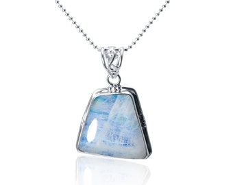 Hand Crafted One of a Kind Moonstone Pendant