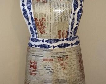Women's washable apron