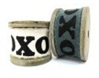A 3 meter XOXO fabric roll 100% cotton