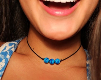 SALE - Three Bead Choker
