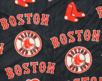 MLB Boston Red Sox Fleece V3 Fabric by the yard