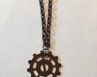 """31"""" Bronze Heda Necklace"""