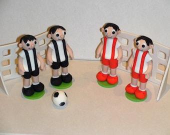 Soccer Team Cake Toppers