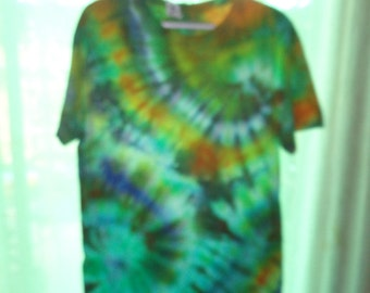 Tie-Dyed Mens XL 100% Cotton