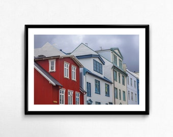 Reykjavik / Iceland / Colorfull / Houses / Islande / Travel / Arctic