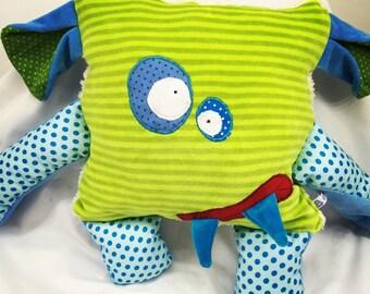 Cuddly Monster pillow