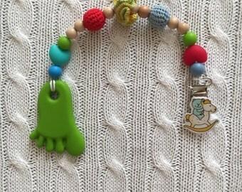 Nursing necklace, teething necklace, breastfeeding