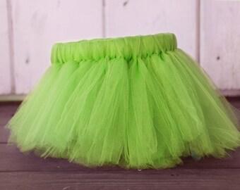 Green Tutu, Green Birthday Tutu, Green Birthday Girl Tutu