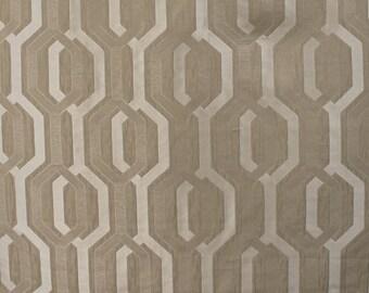 Upholstery/Drapery Jacquard Fabric Como 357 Quartz By The Yard