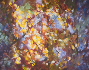 "Fall Leaves 8""x10"" & 11""x14"" fine art print"