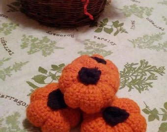 Crochet pumpkin, Halloween Decoration