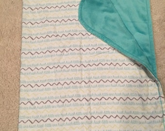 New Baby Gift Set Blanket - Burp Cloth - Taggie Toy