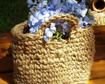 Country cord tote bag