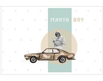 Manta Boy, 1972