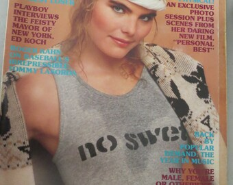Vintage Playboy April 1982