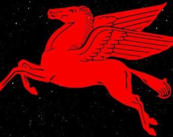 Pegasus Horse Vinyl Car Decal