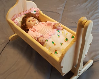 Baby Doll Pendulum Cradle