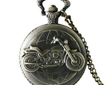 Pocket Watch or handbag logo bike