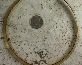 Brass Neck Ring Bohemian Brass Hardware Vintage Style Repurpose Flea Market Neck Ring