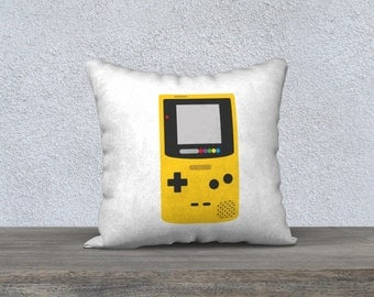 Pillow cover - Gameboy Color (White)