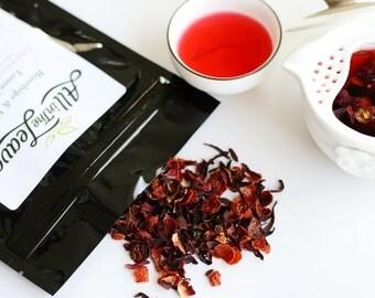 Rosehips & Hibiscus Loose Leaf Tea