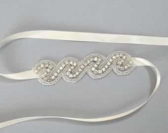 Wedding Bridal Bracelet, Rhinestone Crystal Wedding Cuff Bracelet, Wedding Party, Gift, Cuff Bracelet, Bridesmaid Gift