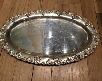 Medium Sterling Silver Serving Platter