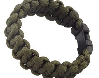 Paracard Survival Bracelets - Olive Drab